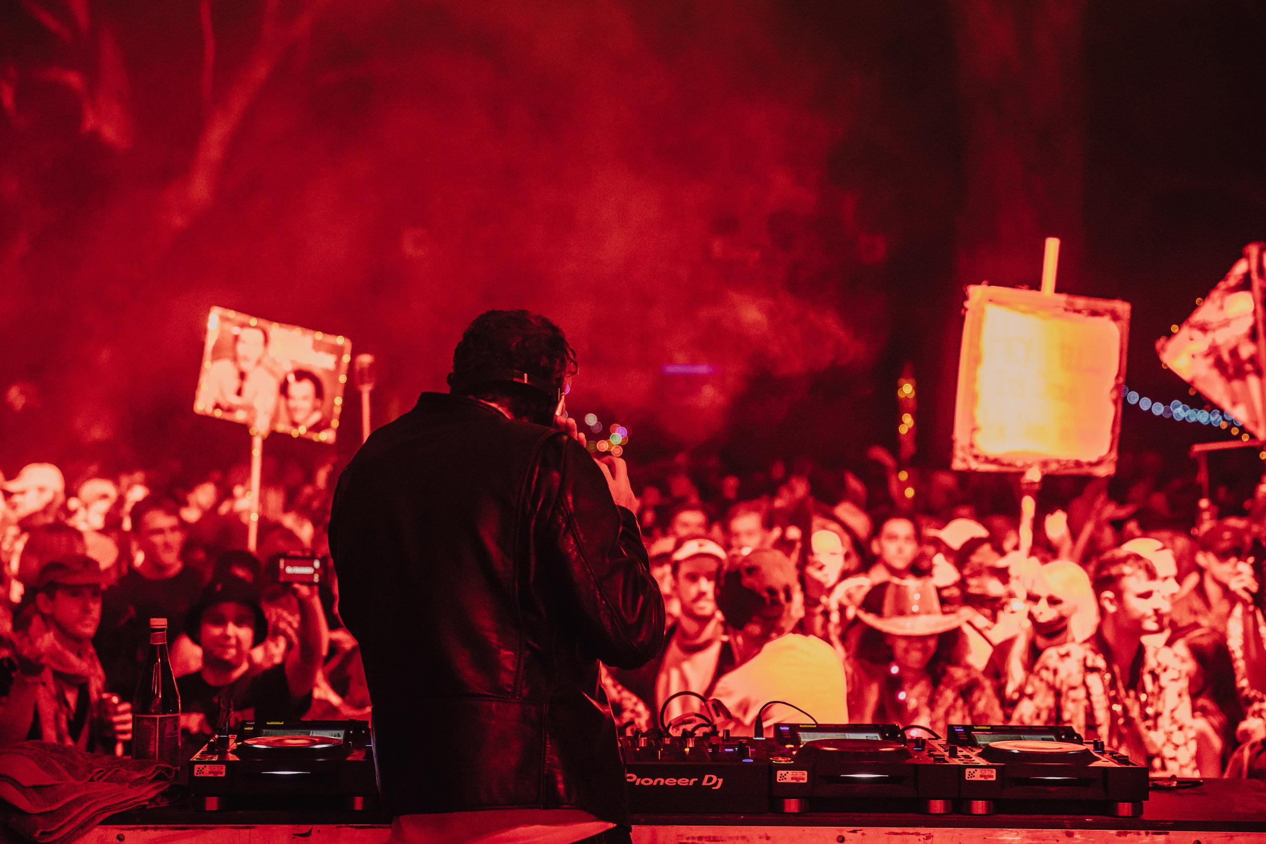 DJ Harvey was red hot…