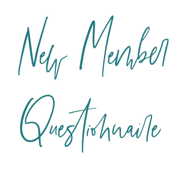 New Member Questionnaire
