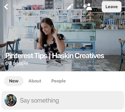 Pinterest Tips Community by Haskin Creatives