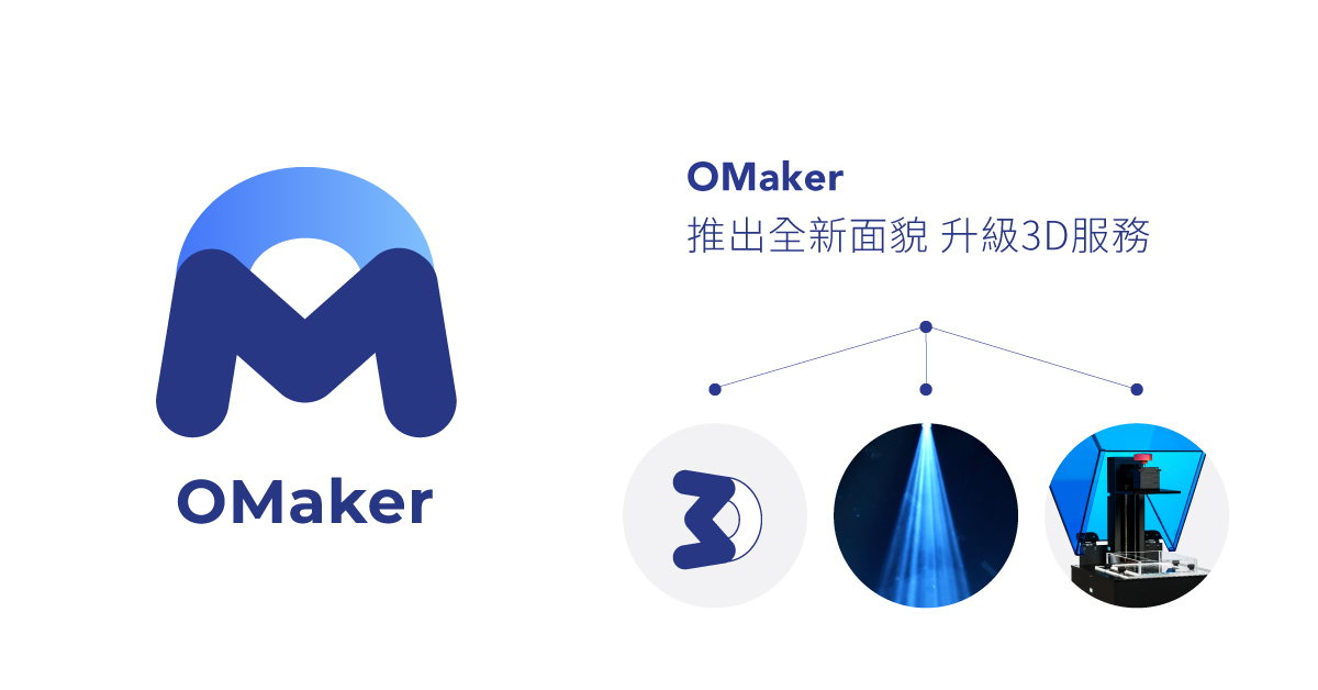 OMaker - 推出全新面貌 升級3D服務