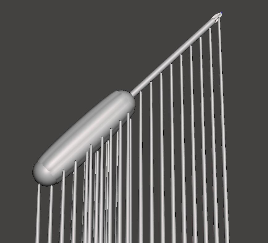 圖為支撐架設範例