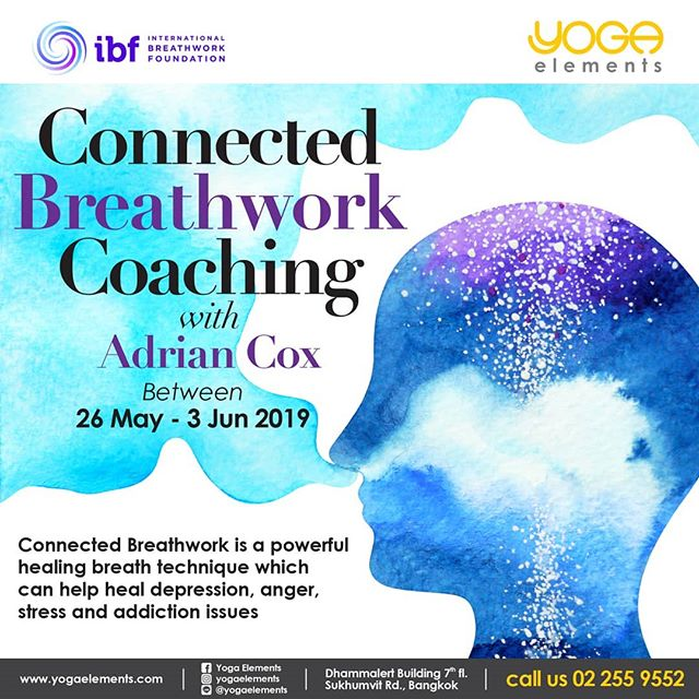 I will be offering private Connected Breathwork sessions in Bangkok, Thailand from May 26 to June 3rd and in-between in Kansai, Japan. (Osaka, Kobe) Limited spaces available and I expect this to be sold out soon. PM me to book an appointment and find out what people have been talking about! Connected Breathwork focuses on the inhalation with a passive exhalation maintained consciously and continuously for 45-60 minutes. As energy builds, you will enter into an other-than-usual state of consciousness where healing of trauma or stuck emotions becomes possible. You may even experience expanded consciousness, overwhelming feelings of peace and joy and even mystical revelation. A cycle consists of ten sessions which also includes personal coaching into your thought and emotional processes.  Breathwork is a bridge that joins the realms of the physical, mental, emotional and spiritual. Those who commit themselves to a course of Connected Breathwork have been almost universally grateful and permanently changed.  2 hour private sessions by appointment.  2,500THB at Yoga Elements or your location PM to inquire for more information and book your session Session times are limited and advance booking is essential! #breath #breathwork #healing #love #meditation #health #wellness