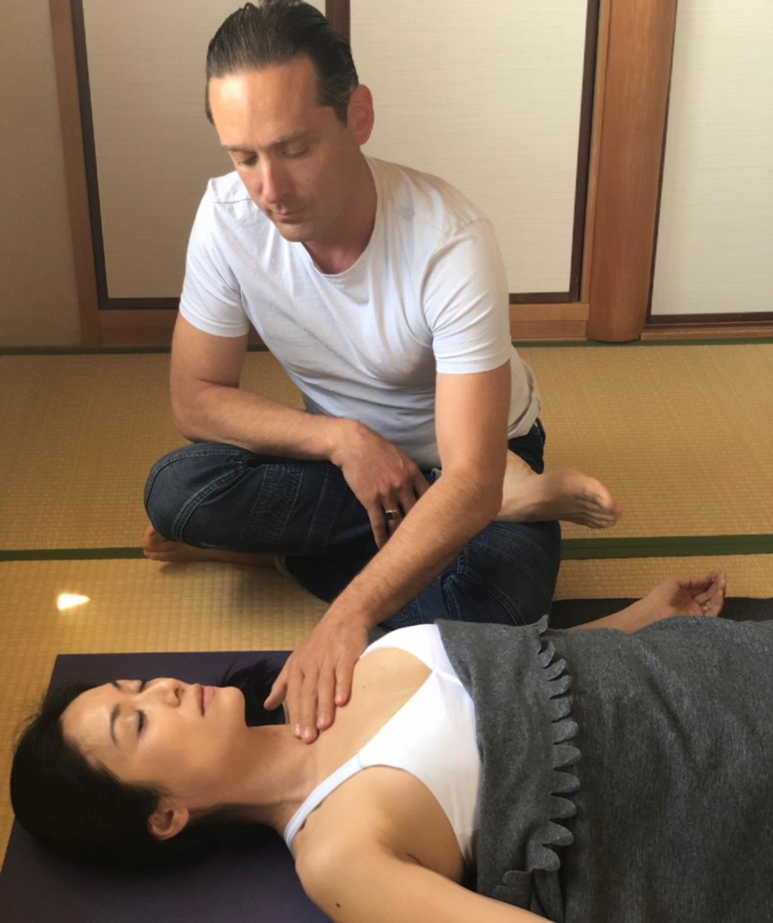 breathwork with Adrian Cox