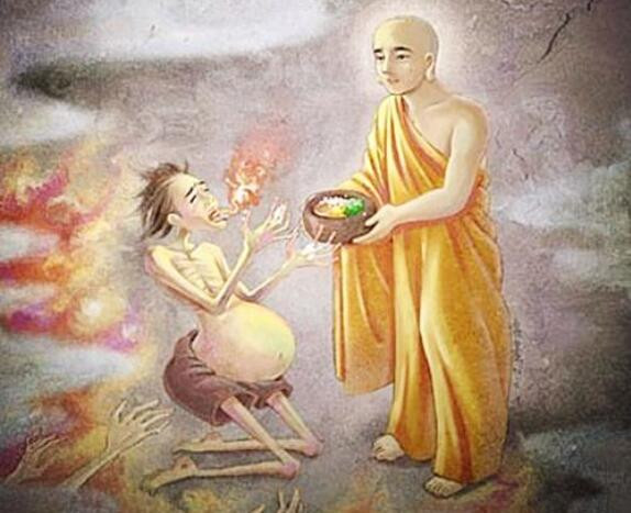 "The Buddhist concept of a ""Hungry Ghost"" is a being who has a very large stomach but a tiny mouth. No matter how much they consume, they never become satiated. As a metaphor, a lot of society is exactly in this type of consciousness"