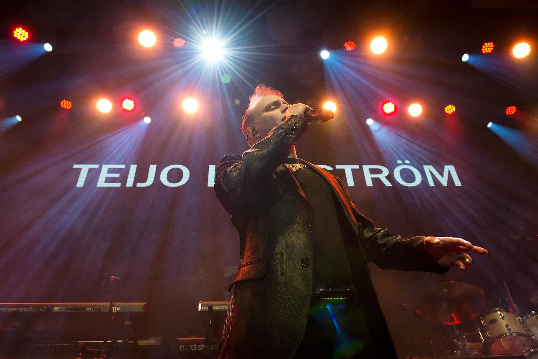Tangokuningas Teijo Lindström live on stage in May 2018. Photo: © Heli Kaskinen 2018