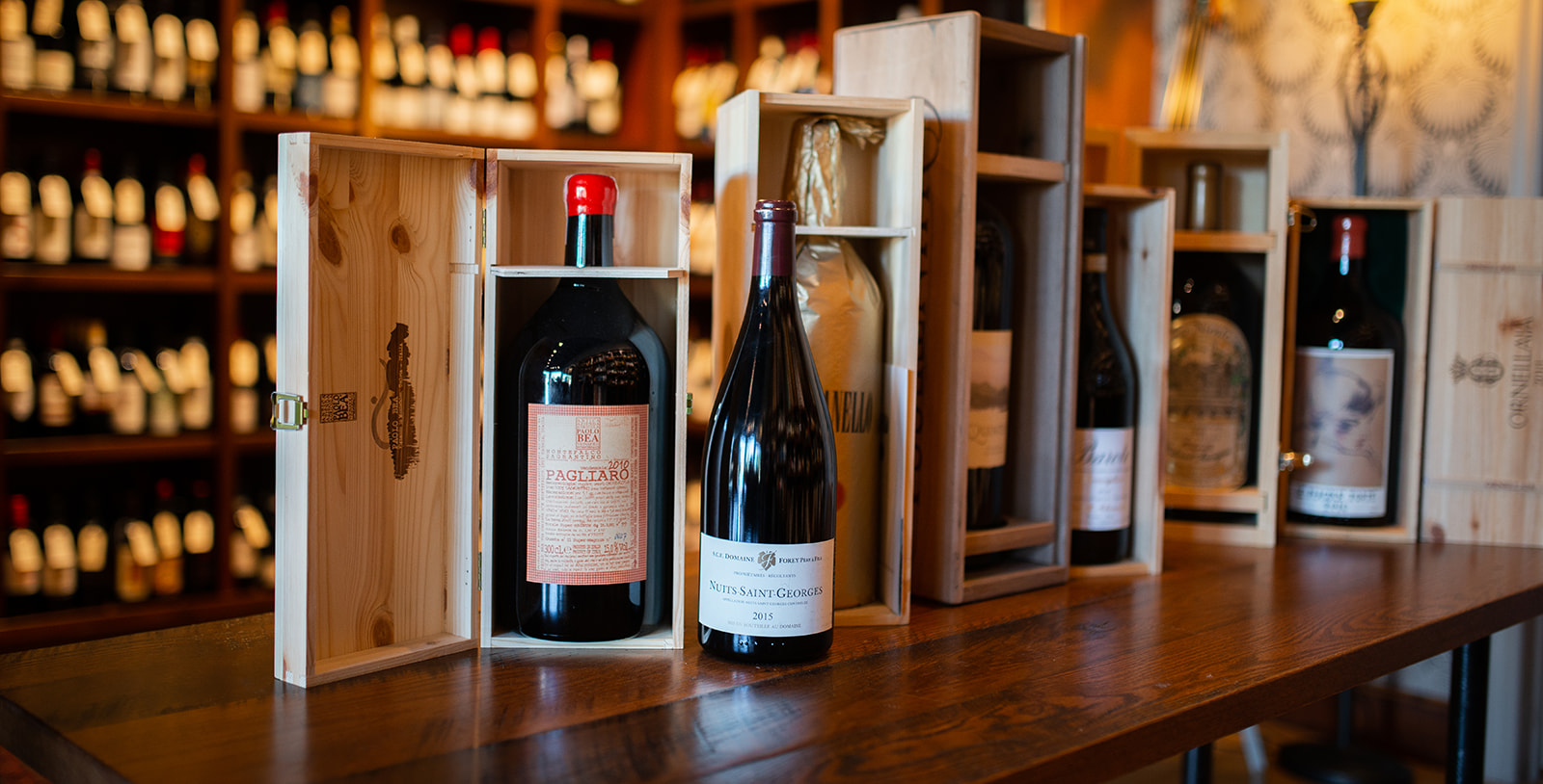 <p><strong>CELLAR MANAGEMENT</strong><i>READ MORE →</i></p>