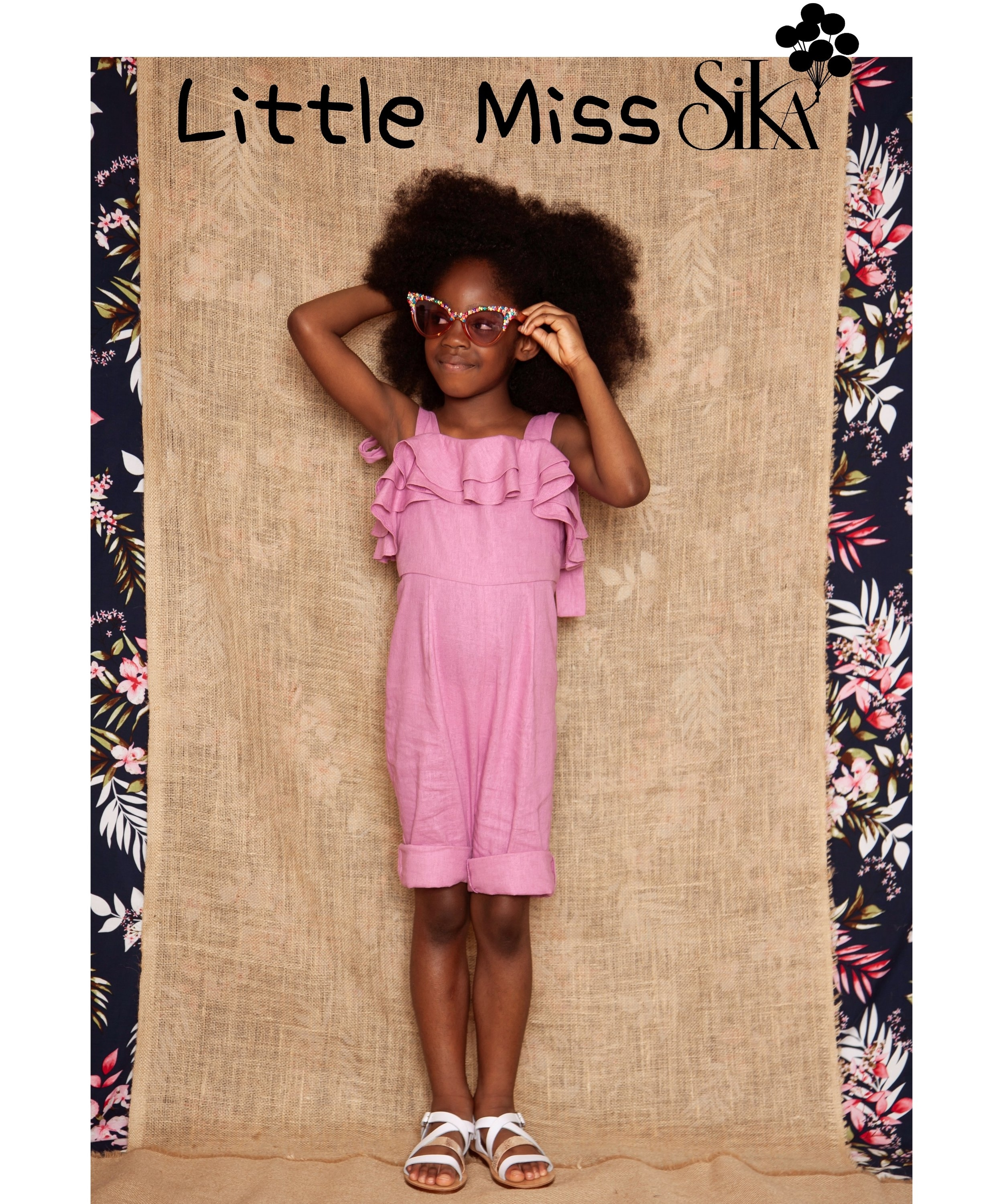 - This season Little Miss SIKA is packed with beautiful pieces that your 'Mini Miss' would absolutely adore! From those who are keen to express their individuality, to the little angel that wants to be just like mummy we've got every personality covered!Our LMS collection features Mini Playsuits, Mini Shirt Dresses and even a tropical inspired Mini African Print Swimsuit all with matching SIKA Woman options.What is there not to love about 'Little Miss SIKA'.