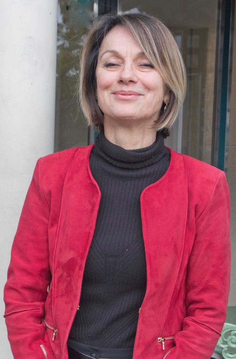 Véronique Cham-Meilhac, coincidentally wearing an MBDA colour scheme! Photo: Christina Mackenzie