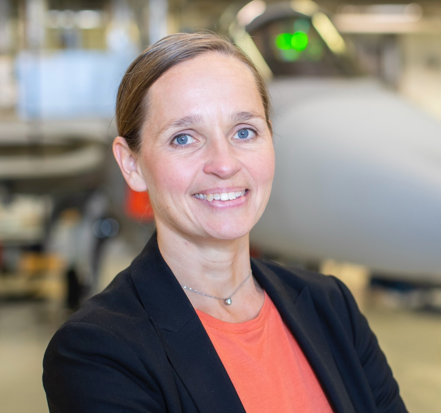 Lisa Åbom. Photo credit: Saab