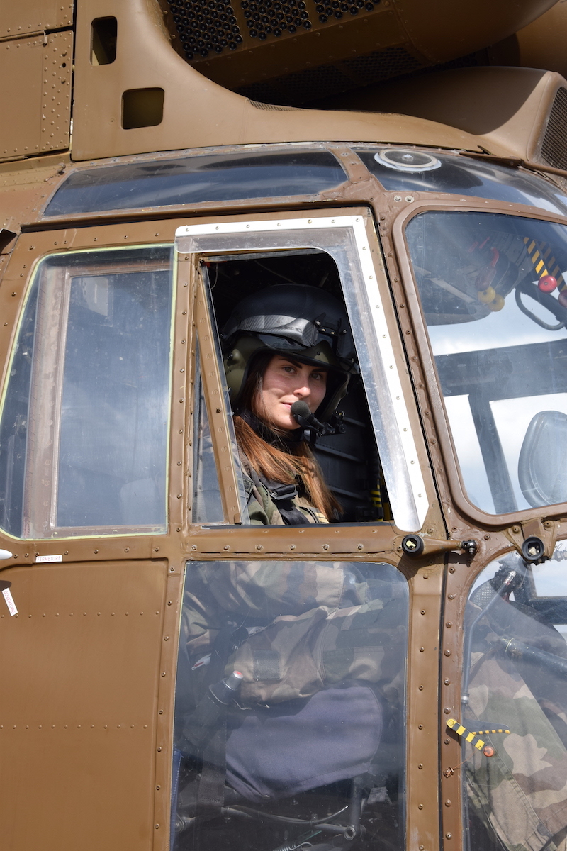 Lt Alicia. Photo credit: French Army