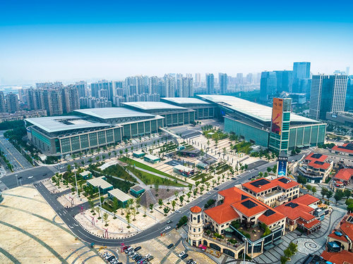 The Suzhou Convention Center in China where Advantech held its first Global IoT Summit.