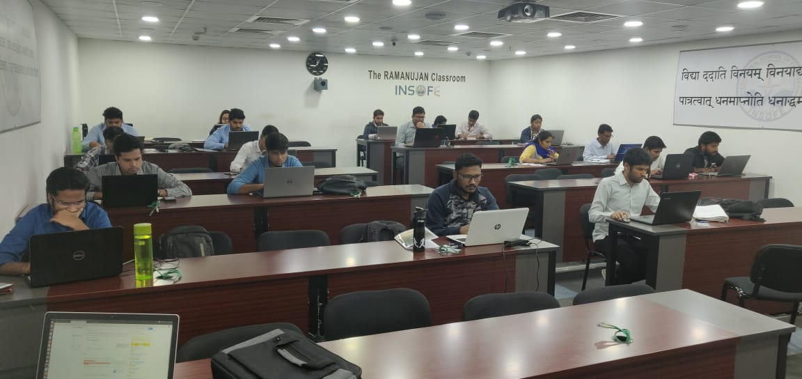 Foundation AI sponsors hackathon at INSOFE, the largest data science university in Asia.