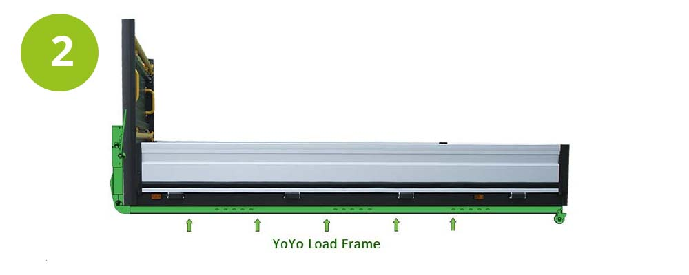 Step 2 - Add the YOYO load frame to the body