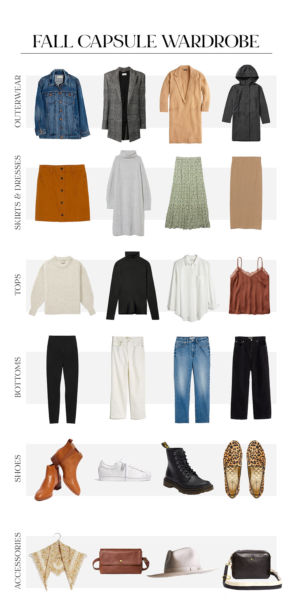 Fall Capsule Wardrobe 20 — By Olivia Lee
