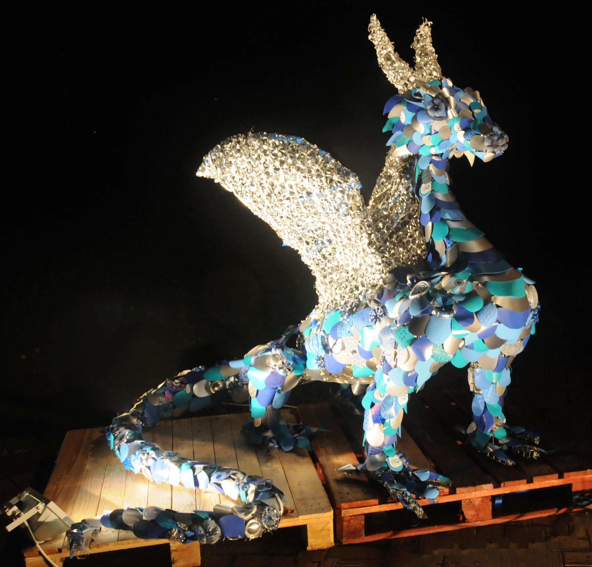 Upcycled Dragon - 2015