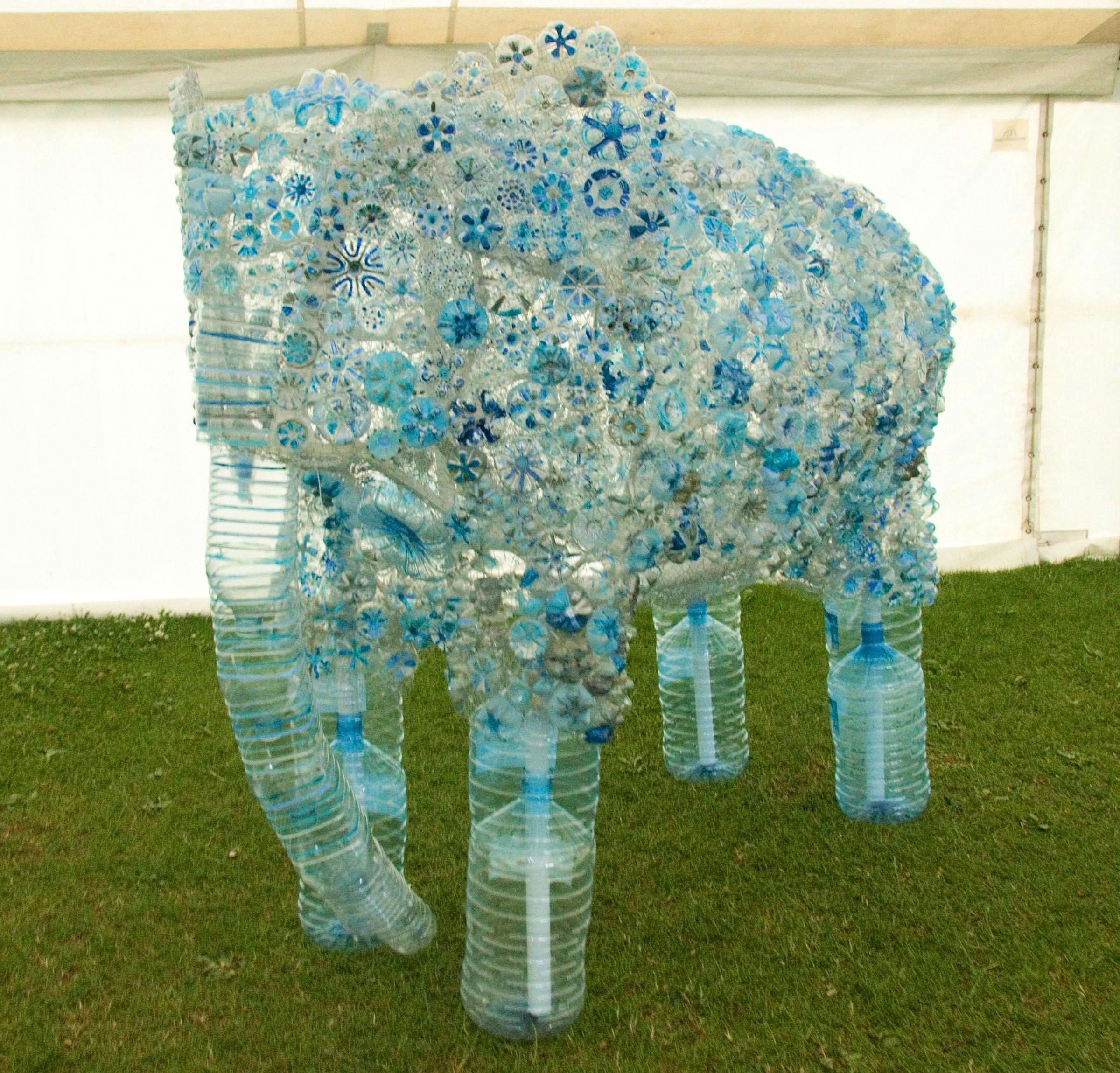 Plastic Bottle Elephant - 2014