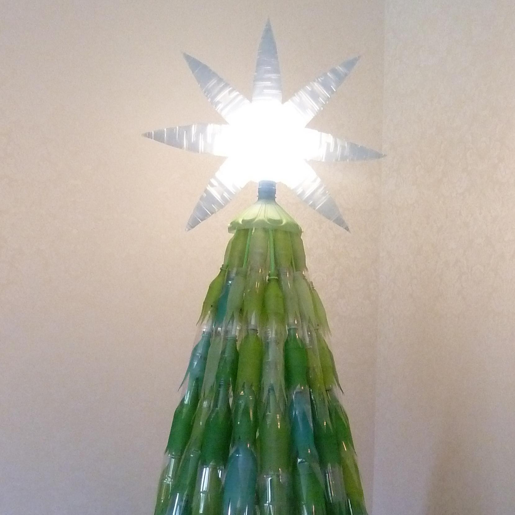 Bottle Christmas Tree - 2013