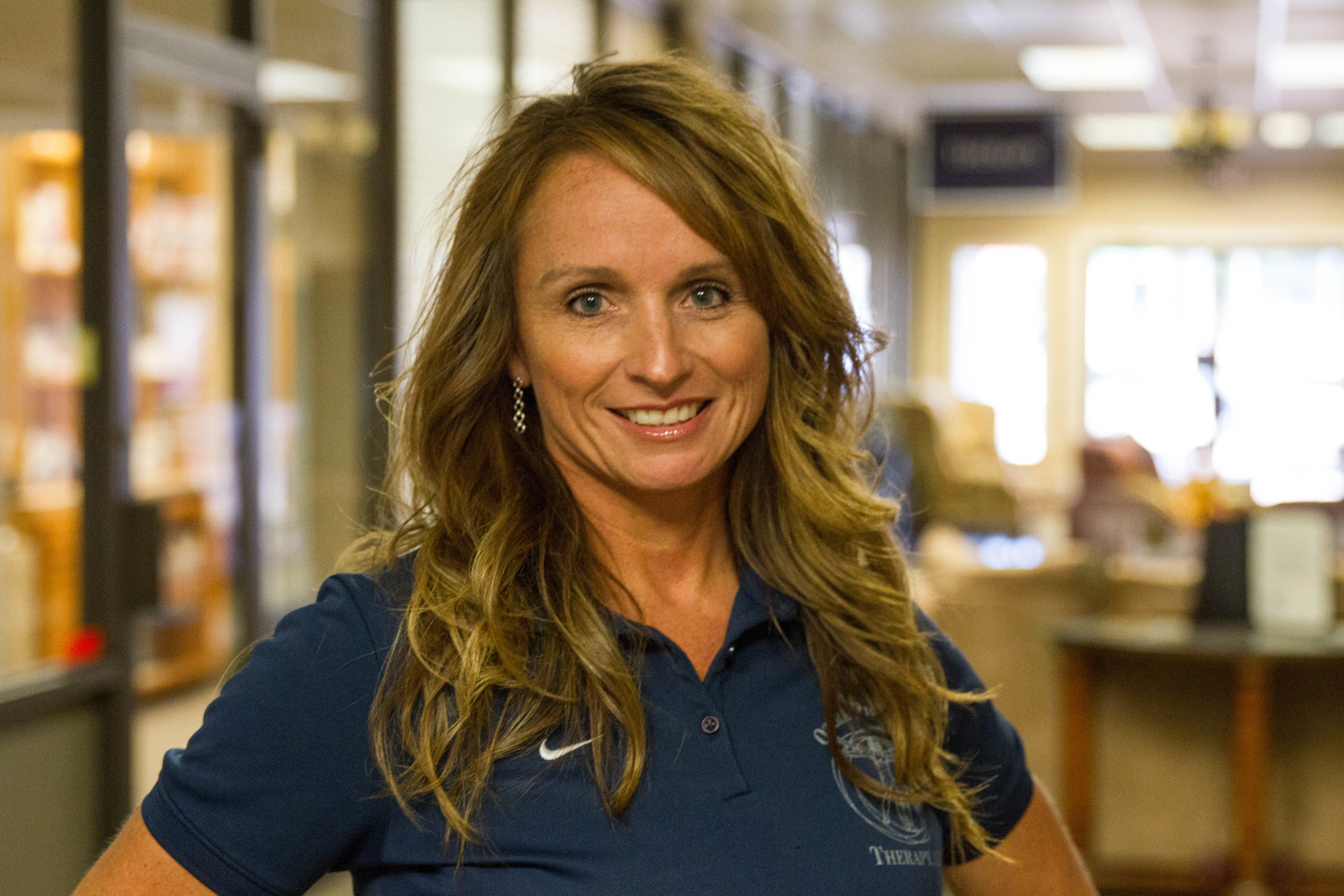 MANDY EDDY, ATC, CWcHP - director of therapy & fitness
