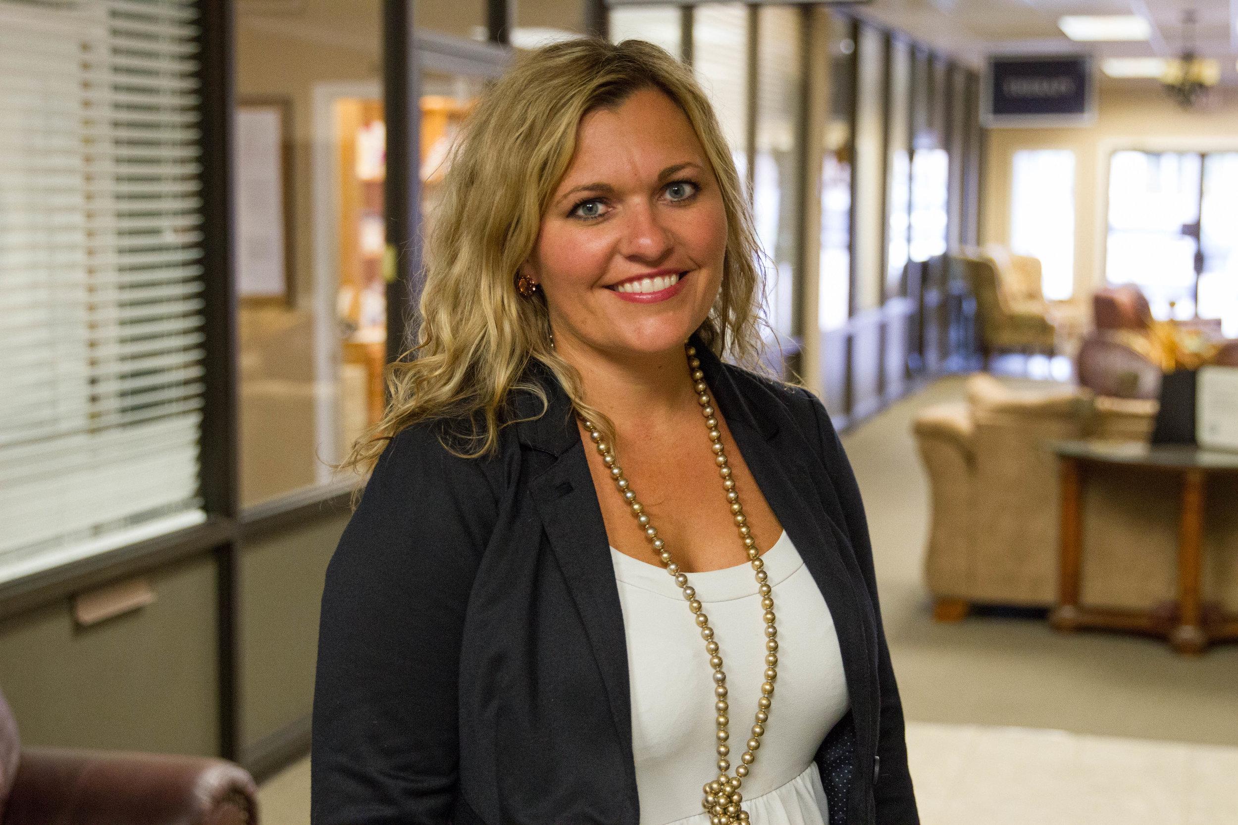 Ashley Tinsley, MBA - Administrator