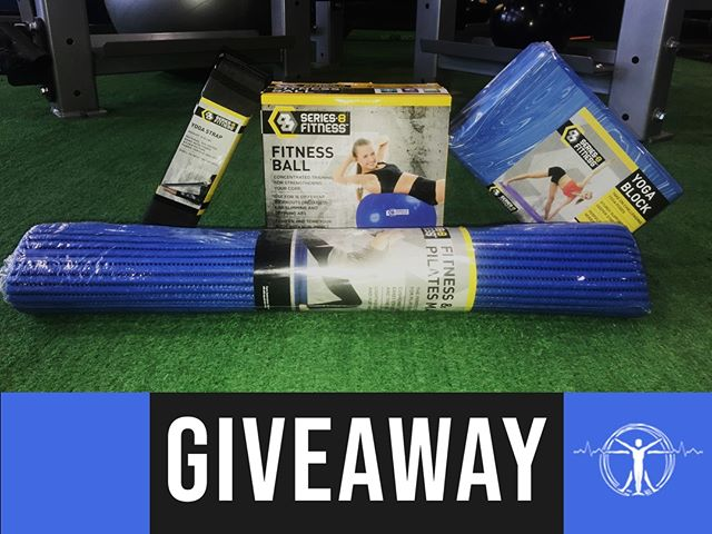 Looking to get a jump start on your fitness journey? 🏋🏼‍Now is the perfect time! We are holding a GIVEAWAY, that will supply you with some of our favorite exercise essentials! 🎉We are giving away: a yoga block, yoga mat, yoga strap, and a fitness ball! ⠀ ⠀ To enter this giveaway, go to this post on our Facebook page! @OzarkFitness