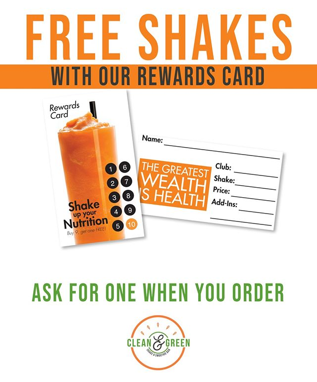 It couldn't be easier... one simple punch card giving you every 10th shake FREE! Be sure to ask us for one next time you stop in! ⠀ .⠀ .⠀ .⠀ .⠀ .⠀ #fitness #ozarkfitness #getfit #protein #promo #freeshakes
