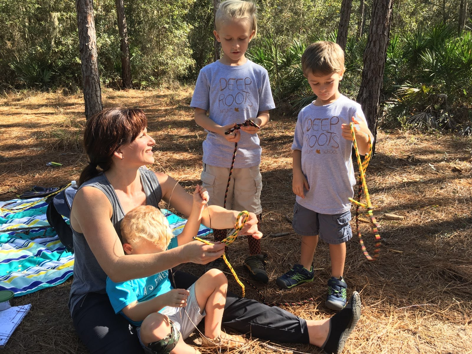 An extra day a week at Nature School means even more Movement, more Nature Connection, and more skills practice… Everyone wins!