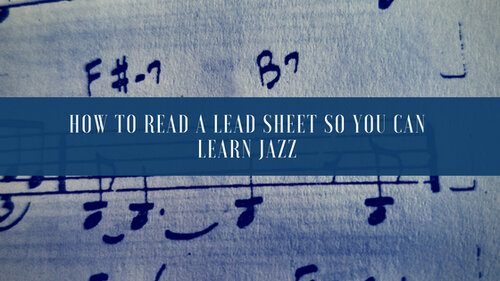 How To Read Lead Sheets Cover Image