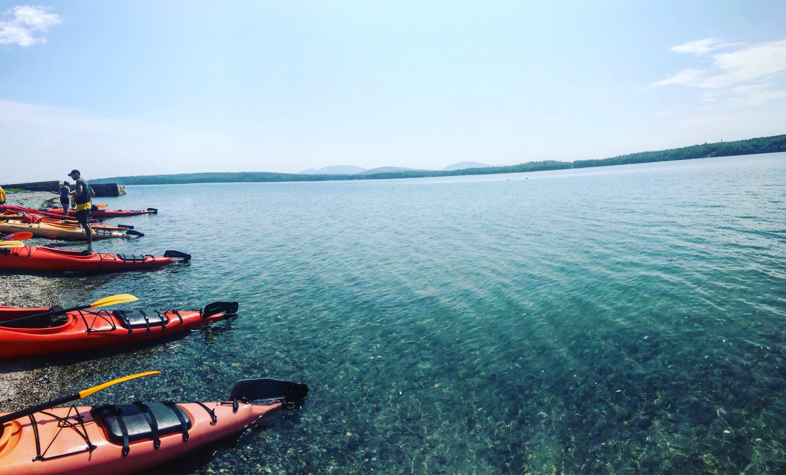 Before the adventure of Sea Kayaking!