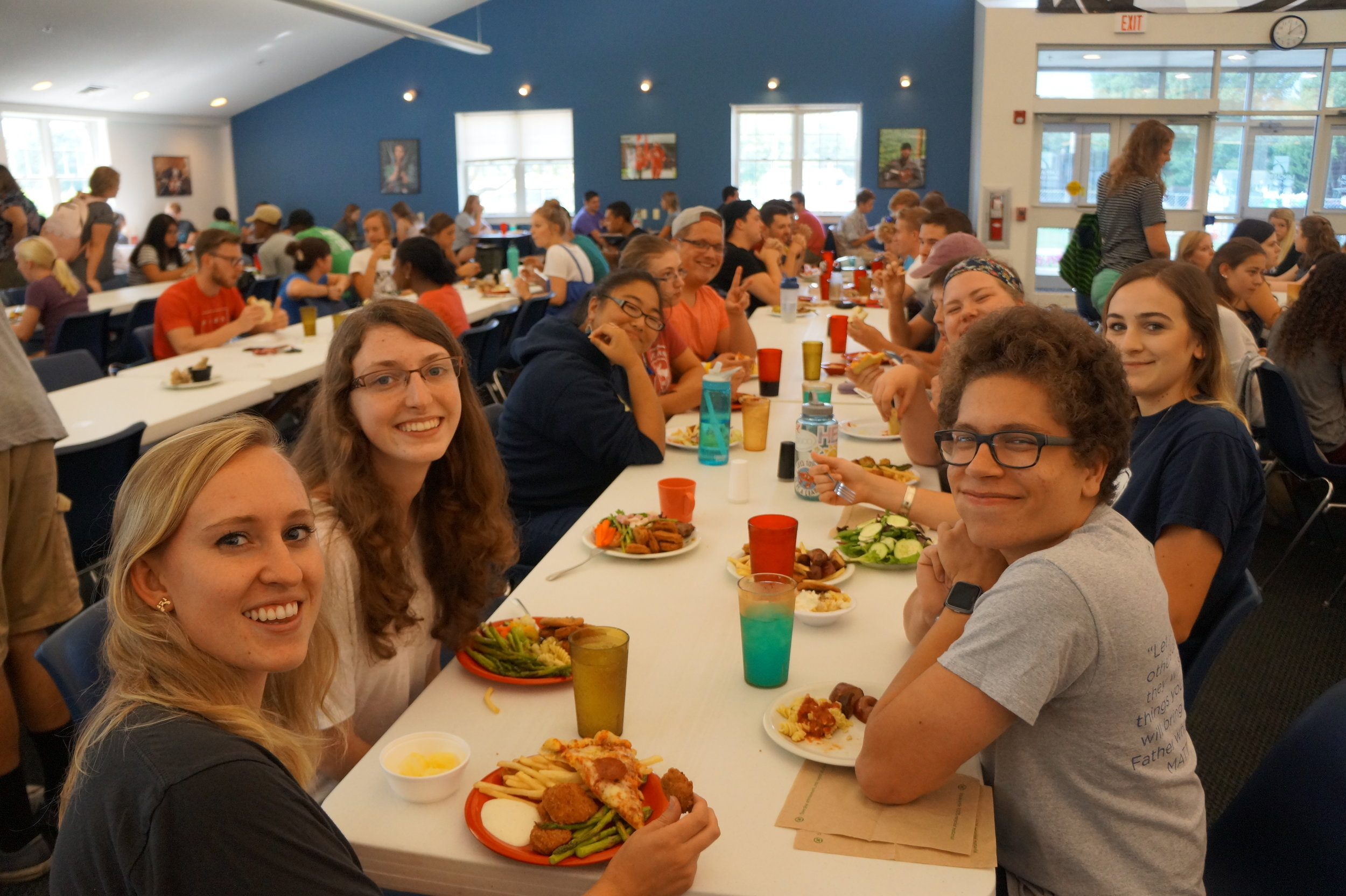 Lunch together in the ODC!