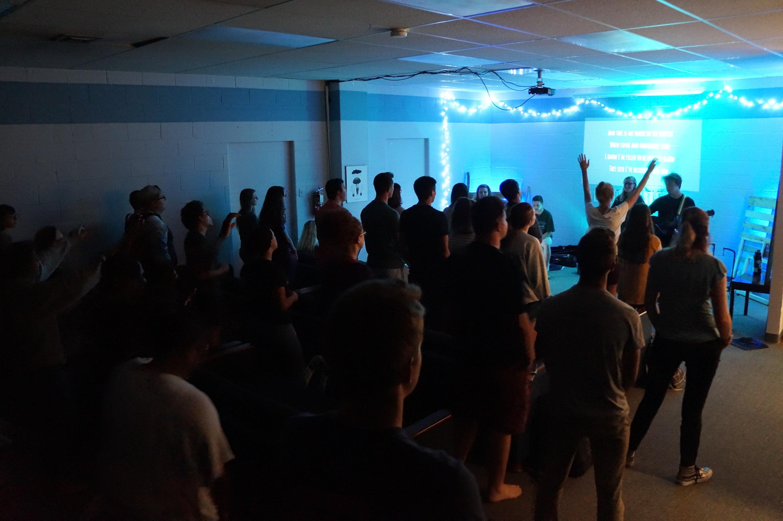 Monday night worship