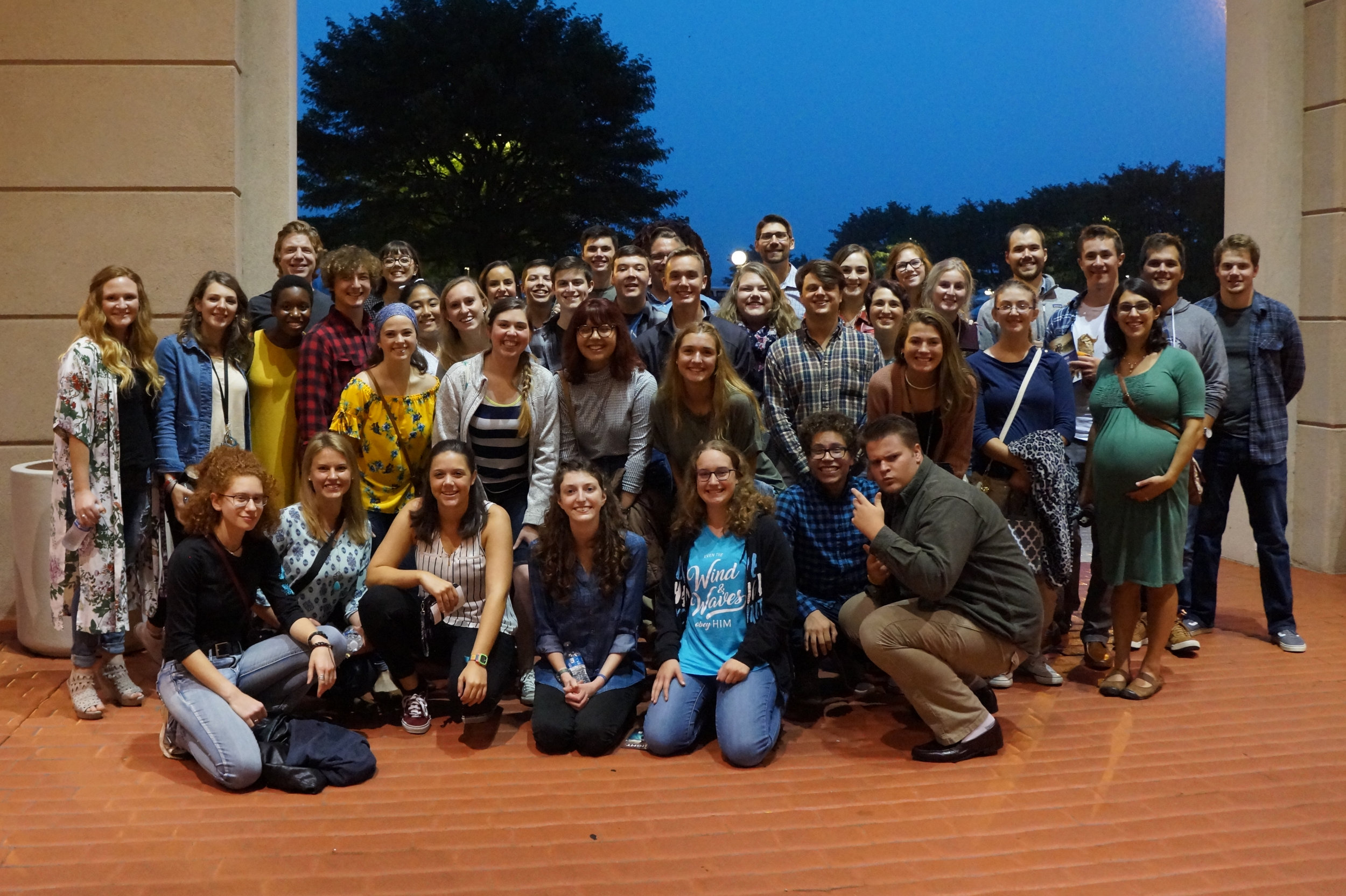 OneLife Class 6 at Sight and Sound for the production of Jesus.jpg