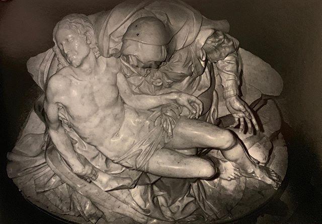 M's Pieta from above (!)