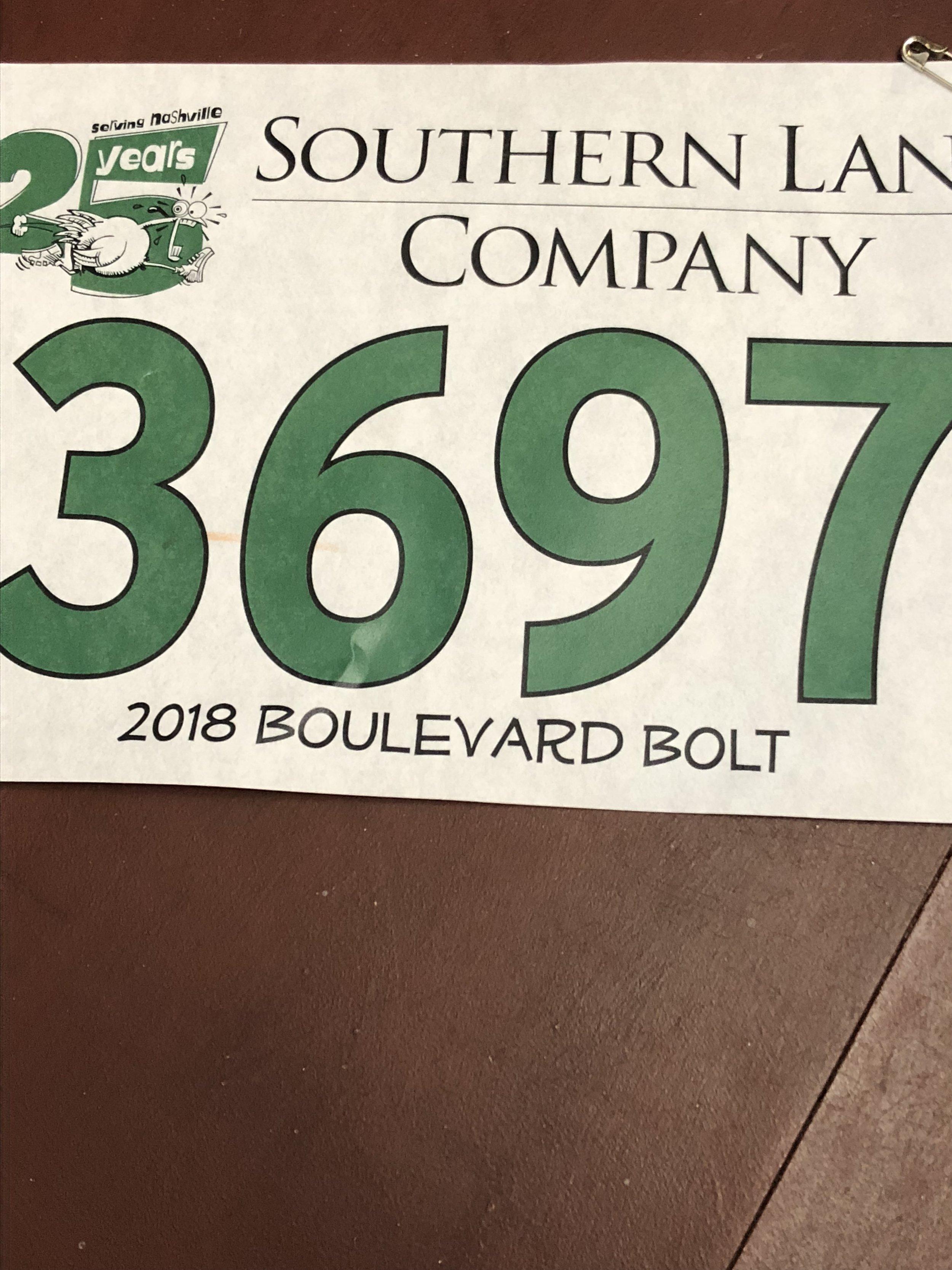 Boulevard Bolt 2018