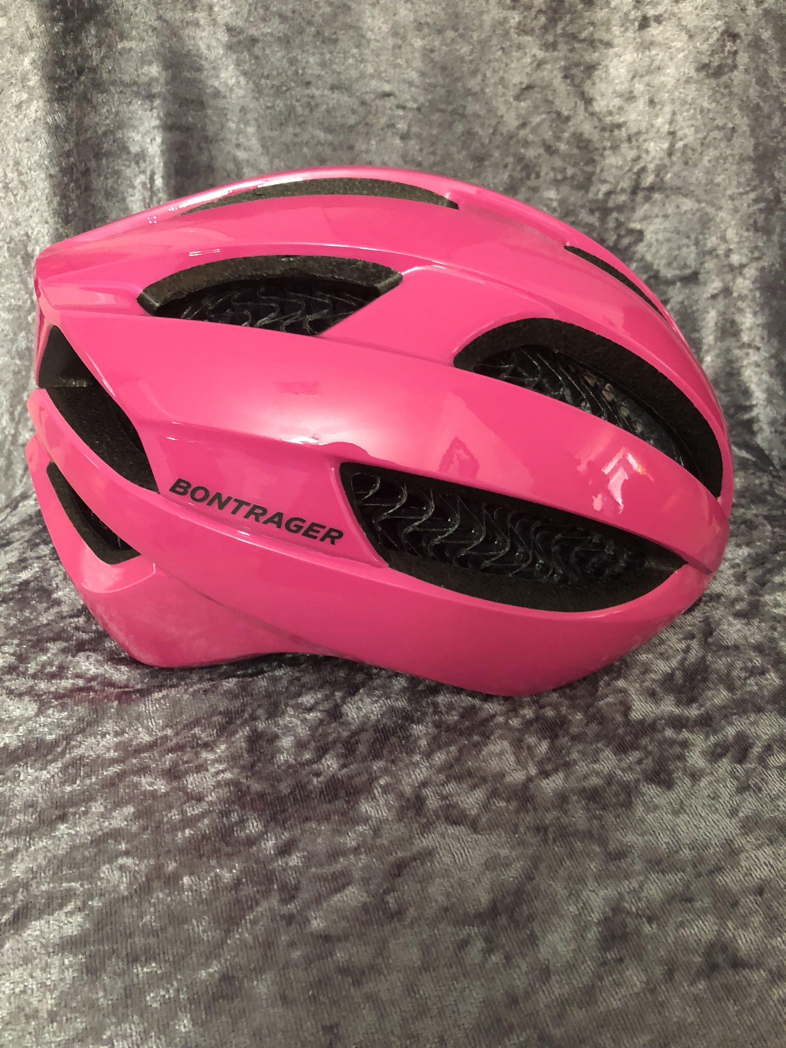 Bontrager Specter Helmet Pink Side View