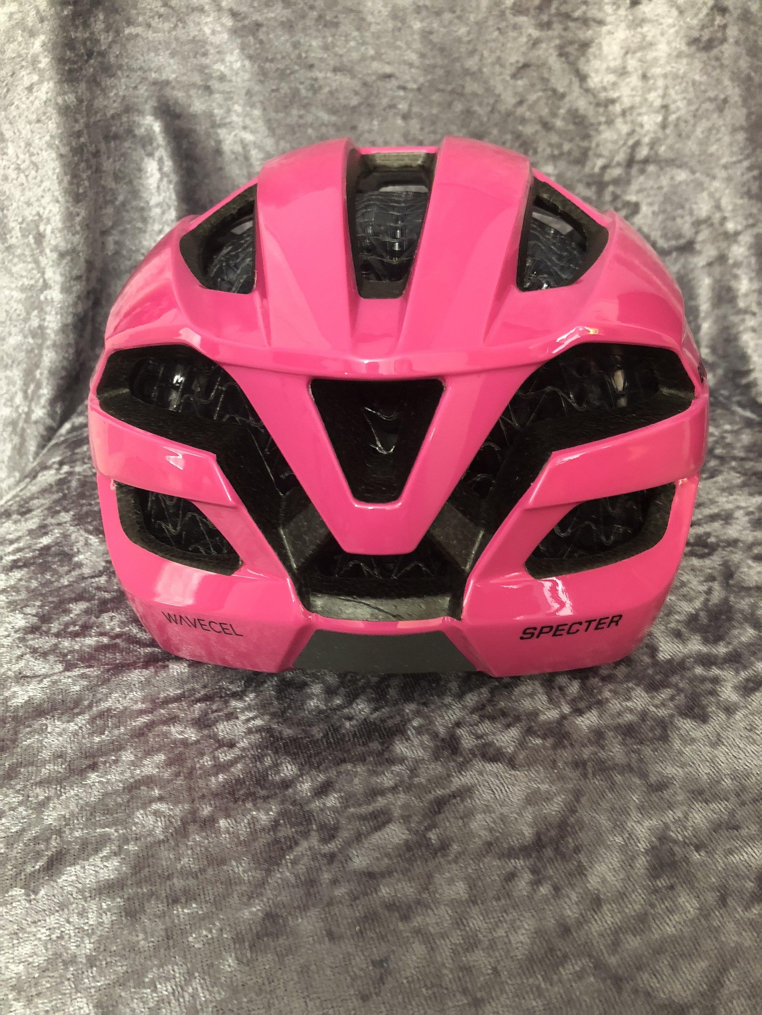 Bontrager Specter Helmet Pink Rear View