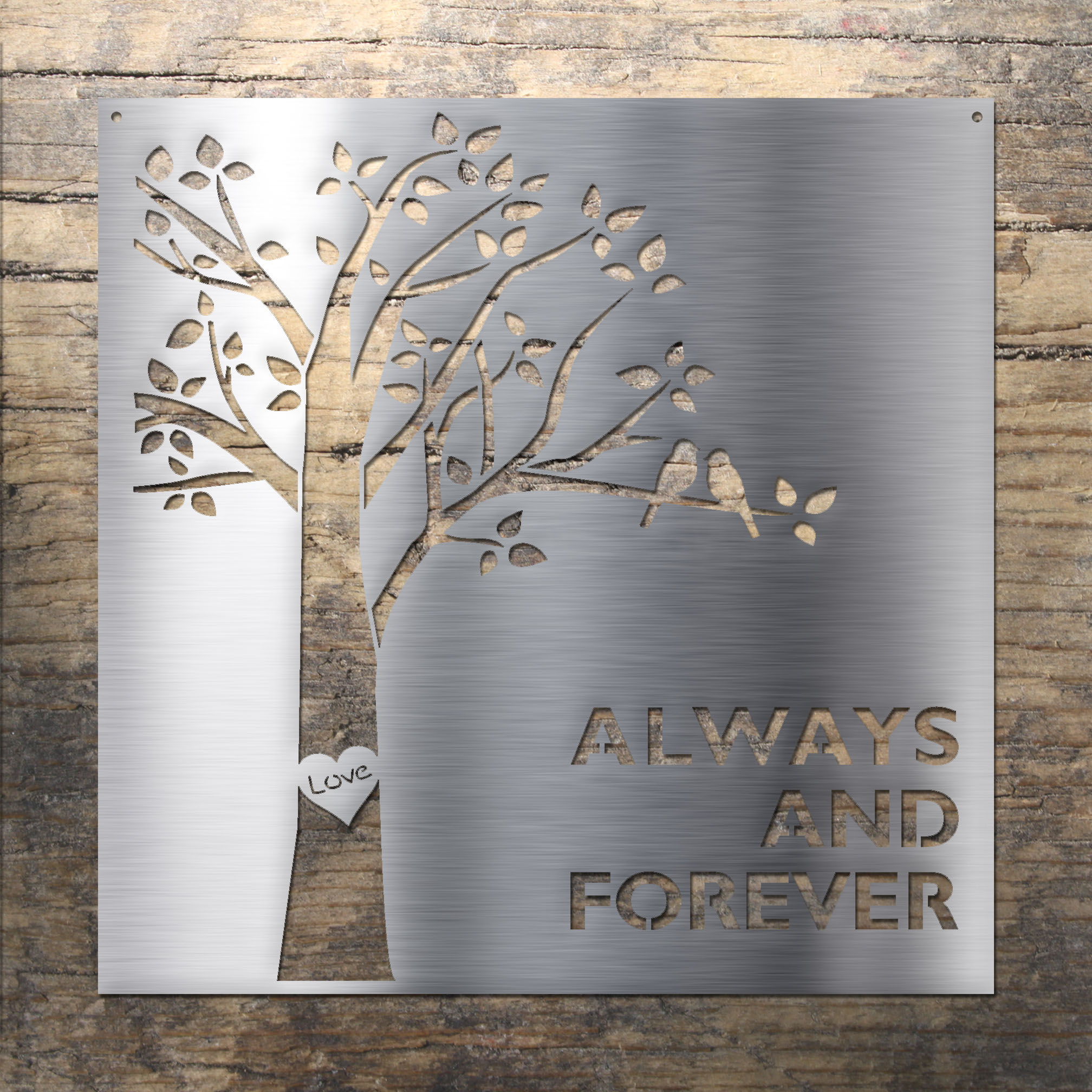 laser cut stainless steel