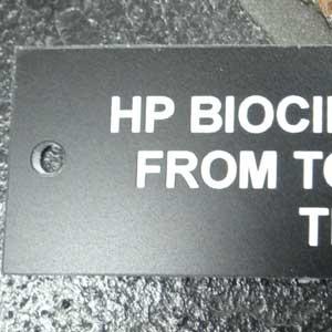 Industrial Marking - Custom Plastic Labels - Engrave It Houston