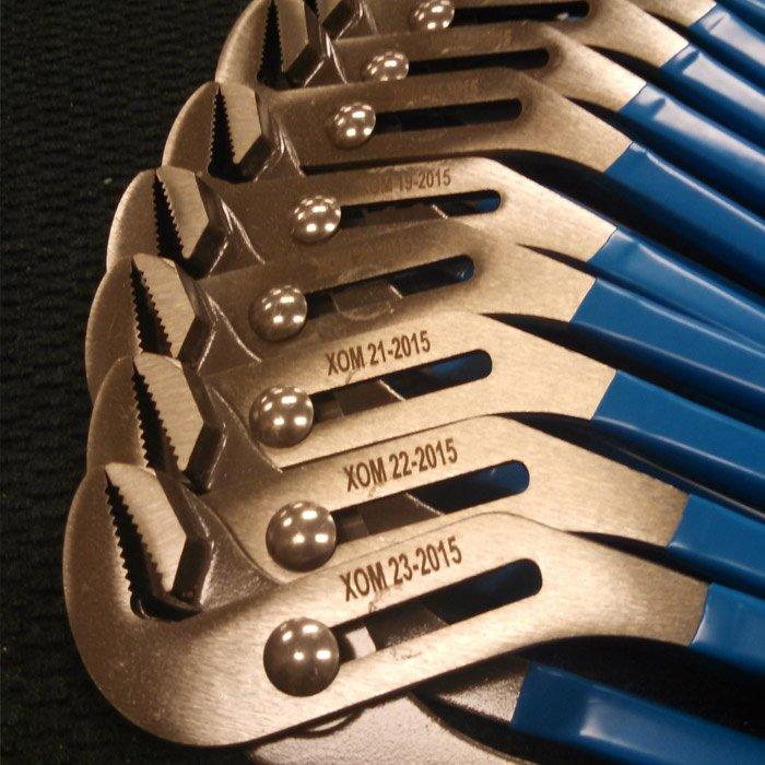 Industrial Engraving - Custom Engraved Tools - Serial Number Engraving - Engrave It Houston