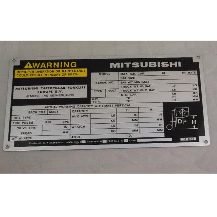 industrial engraving - custom machine panel