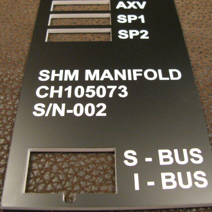 custom engraved phenolic tags