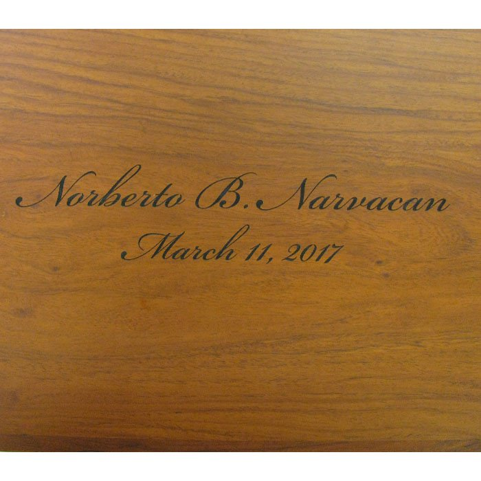 custom engraved wood plaque