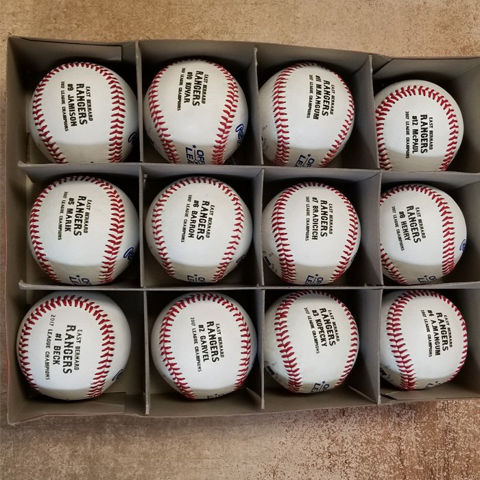 custom personalized baseball