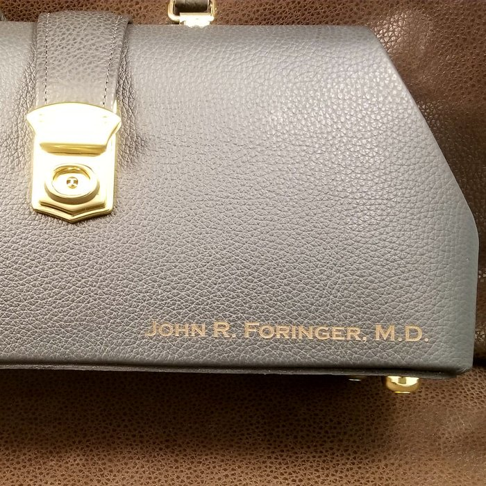 personalized briefcase purse bag