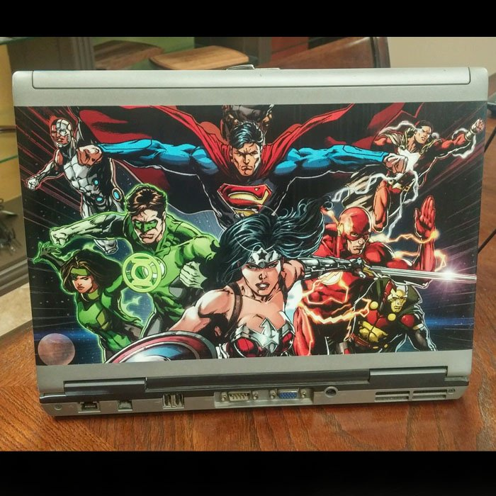 direct printing full color custom laptop
