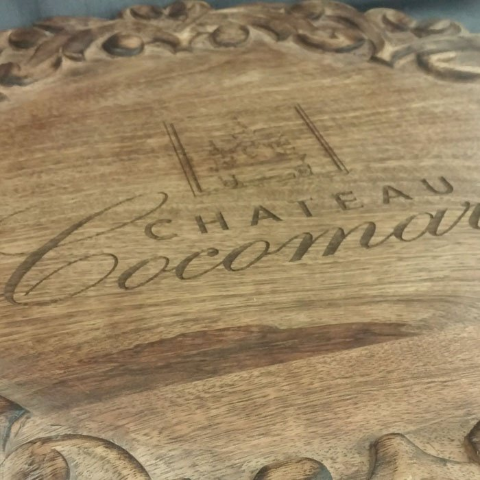 custom personalized woodburning