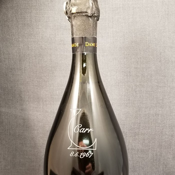 custom bottle engraving - personalization wedding gift