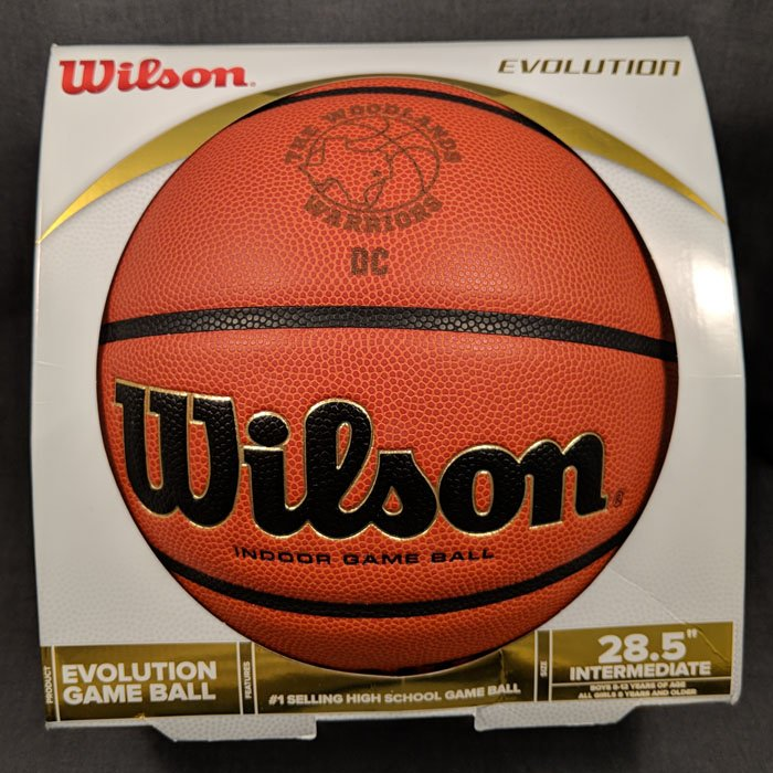 custom engraved basketball