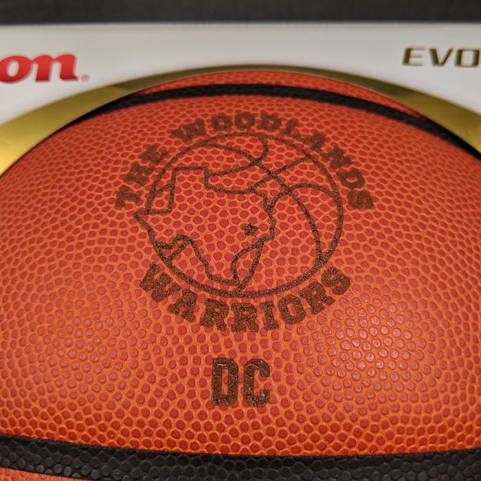 custom personalized basketball