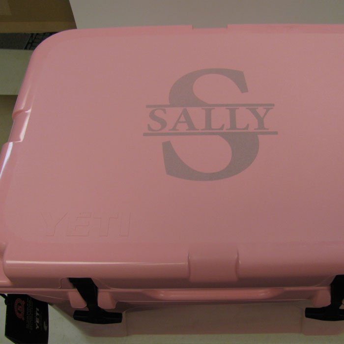 personalized yeti cooler