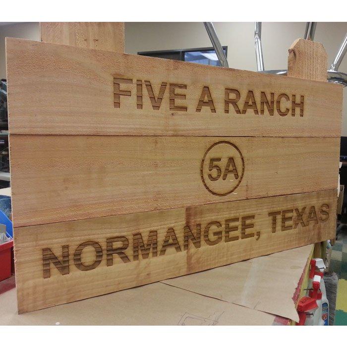 custom engraved personalized wood sign - wood burning